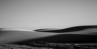 White Sands in Black and White